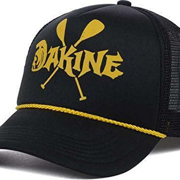 Dakine new South Seas Trucker Black Snapback Adjustable Fit Hat-One Size Fits All