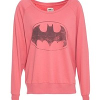 New Look Mobile | Only Pink Batman Sweater
