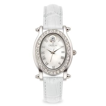 Croton Womens Stainless steel April Birthstone Watch