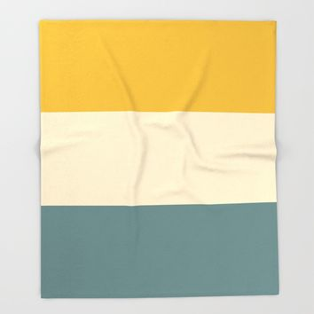 Sunshower Throw Blanket by spaceandlines