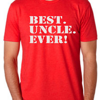 BEST UNCLE EVER T-Shirt for uncle Best uncle ever Mens T-shirt shirt tshirt gift Father's Day gift Canada shipping