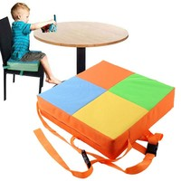 Children Dining Chair Booster Cushion Maternal And Child Supplies Children Oxford Cloth Safety Cushion 32CM*32CM*8CM