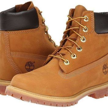 PEAP8KY Timberland Rhubarb Boots 10361 Yellow Waterproof Martin Boots