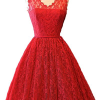Cupshe Come Up Roses Lace Dreaming Dress