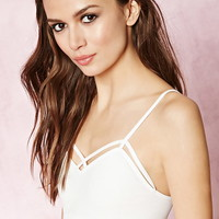 Caged-Cutout Bralette | Forever 21 - 2000151624