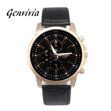 Fashion Unisex Quartz Luxury Watch