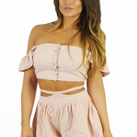 Somedays Lovin Sun And Sand Woven Two Piece Set