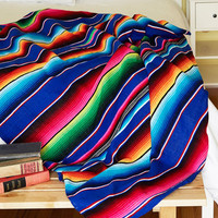 Karma Living Boho Polychromatic Cuddles Throw Blanket