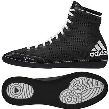 ADIDAS ADIZERO VARNER WRESTLING SHOES - BLACK
