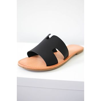 Winnie Sandals - Black