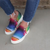 Serape Shoes