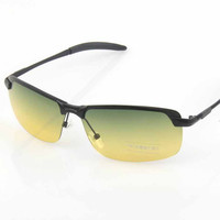 Double Color Mirror Sunglasses [6592750147]