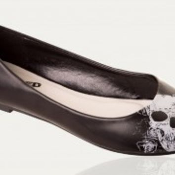 Banned Apparel | Skull Ballerinas - Buy Online Australia Tragic Beautiful