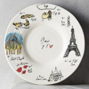 Shop anthropologie dinnerware on wanelo for Calligrapher canape plate anthropologie