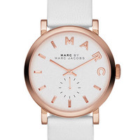 Marc By Marc Jacobs Ladies Rose Gold-Tone Baker Watch