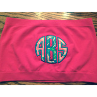 monogram Lilly Pulitzer bandeau