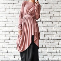 Ashes of Rose Maxi Top