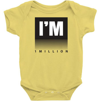 I'm 1 Million Infant Clothing