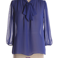 Flavour of the Month Top in Blueberry - $13.18 : Indie, Retro, Party, Vintage, Plus Size, Convertible, Cocktail Dresses in Canada