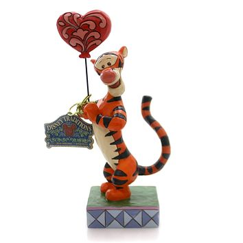 Jim Shore HEARTSTRINGS Polyresin Tigger Valentine's Day 4059747