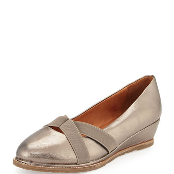 Newman Demi-Wedge Slip-On, Graphite