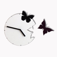 Butterflies in the Skies Wall Clock Freedom
