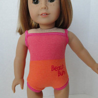 Bathing Suit for 18 inch or American Girl Doll size