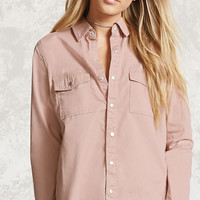 Snap-Button Shirt