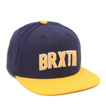 Brixton Hamilton Snapback Hat - Mens Backpack - Blue - One