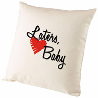 Fifty Shades Of Grey Laters Baby Heart Cushion Cover