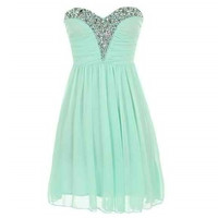Jewel Sweetheart Dress