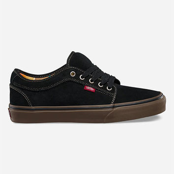 Vans Chukka Low Boys Shoes Black  In Sizes