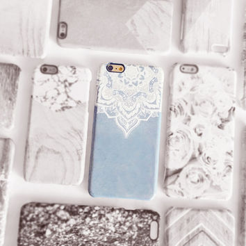 Lace iPhone 6 Plus case, Lace PRINT iPhone 6 case, Lace Mandala Phone case, iPhone 5 case, Boho iPhone case, Minimal Chic iPhone Case