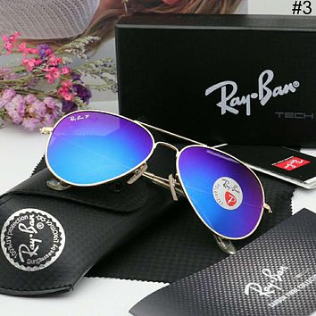 RayBan classic colorful film men and women models wild trend polarized sunglasses #3