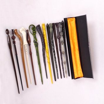 Package with original box New Cosplay Hogwarts Dumbledore Mediumistic Magical Wand    for Harri Potter Cosplay