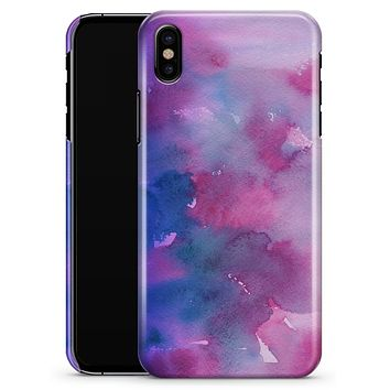 Vivid Absorbed Watercolor Texture - iPhone X Clipit Case