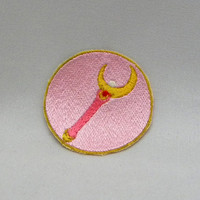 Sailor Moon Crescent Wand Moon Stick patch