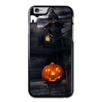 Halloween House with pumpkin iPhone 6 Hard Case (4.7 Inch) - Custom iPhone 6 Cases (4.7 Inch)