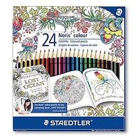 Staedtler® Noris® Johanna Basford Edition Colored Pencil, 24/Pack (185 C24JB) | Staples