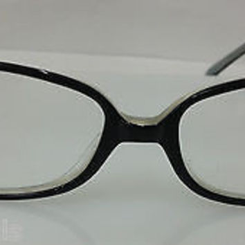 NEW AUTHENTIC KATE SPADE JACOB COL 0RC7 BLACK PLASTIC EYEGLASSES FRAME 52MM