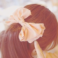 Ruffles Hair Bow- FOLLOW ME AND ENJOY<3