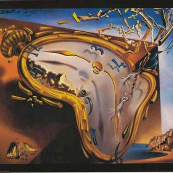 Salvador Dali Soft Watch Art Poster 24x36