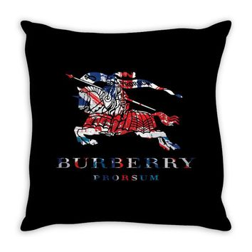 burberry london Throw Pillow