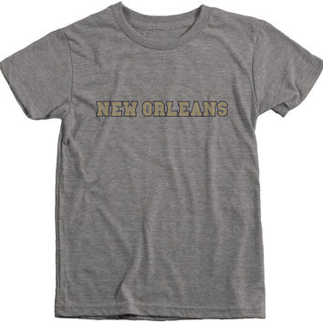 New Orleans Football Club Boys Tri-Blend T-Shirt