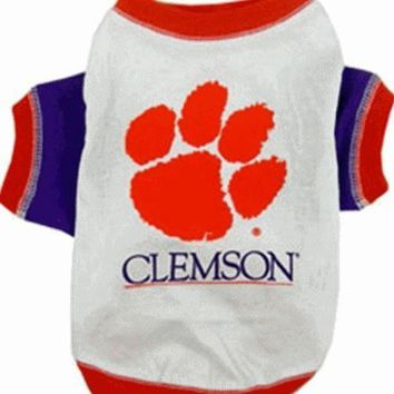 ESB7N7 Clemson Dog Tee Shirt