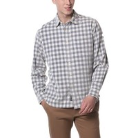 Cresskill Corduroy - Cream Gray Check