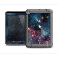 The Bright Pink Nebula Space Apple iPad Mini LifeProof Nuud Case Skin Set
