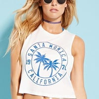Active Santa Monica Graphic Mesh Tank