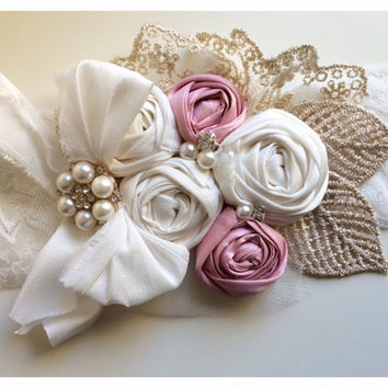 SALE Allure Designs Mon Cheri Shabby Chic Headband