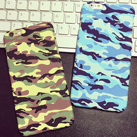 Camouflage iPhone 5s 6 6s Plus creative case Gift-139